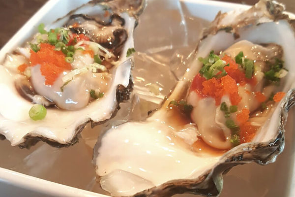Half Shell Oyster Appetizers