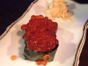 Ikura Nigiri (Salmon Roe Sushi)