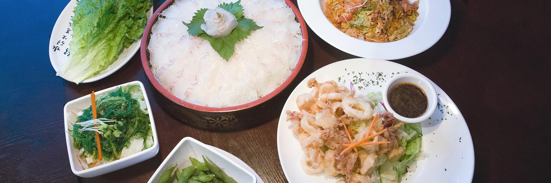 Halibut Plate - iSushi Japanese Restaurant